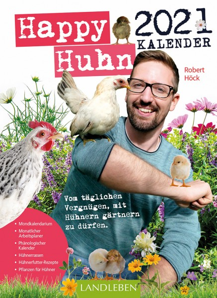 Happy Huhn Kalender 2021