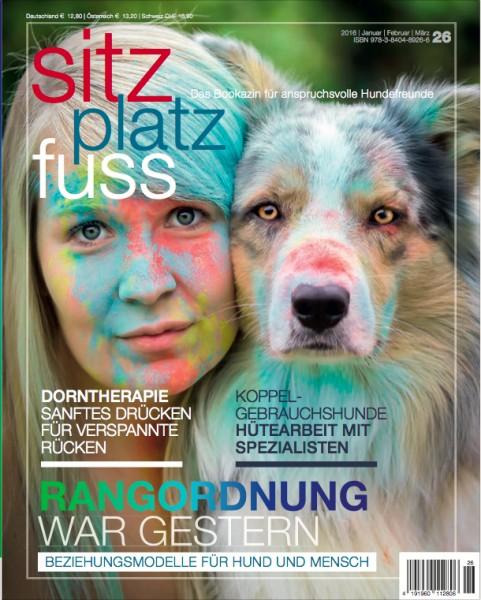 SitzPlatzFuss (26) – Das Bookazin für anspruchsvolle Hundefreunde
