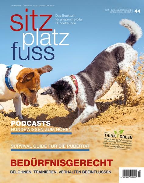 SitzPlatzFuss (44) – Das Bookazin für anspruchsvolle Hundefreunde-Copy