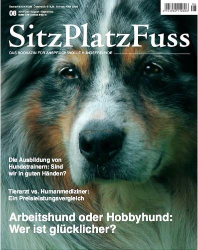 SitzPlatzFuss (8) – Das Bookazin für anspruchsvolle Hundefreunde