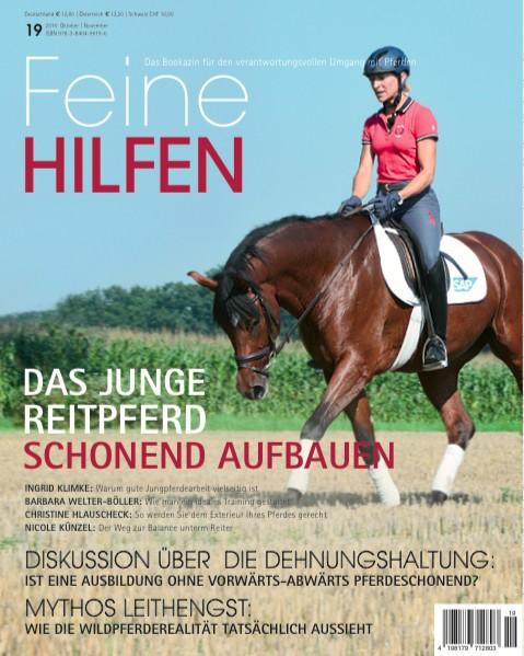 Feine Hilfen (19) – Das Bookazin für den verantwortungsvollen Umgang mit Pferden