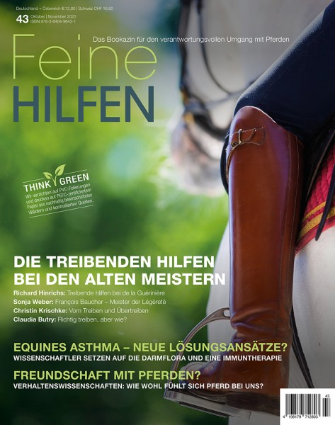 Feine Hilfen (43) – Das Bookazin für den verantwortungsvollen Umgang mit Pferden