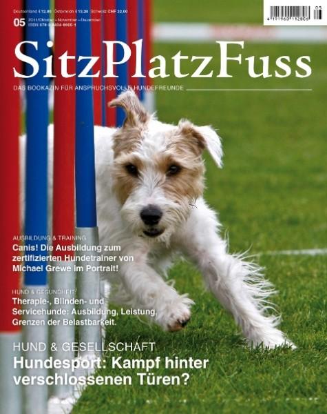 SitzPlatzFuss (5) – Das Bookazin für anspruchsvolle Hundefreunde
