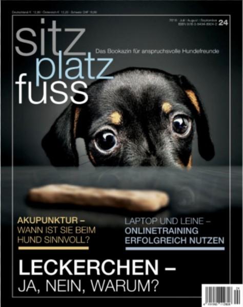 SitzPlatzFuss (24) – Das Bookazin für anspruchsvolle Hundefreunde