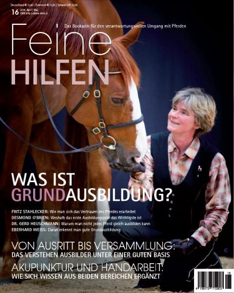 Feine Hilfen (16) – Das Bookazin für den verantwortungsvollen Umgang mit Pferden