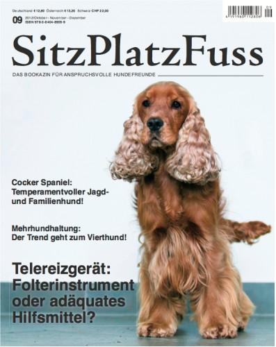 SitzPlatzFuss (9) – Das Bookazin für anspruchsvolle Hundefreunde