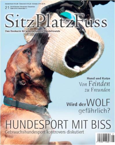 SitzPlatzFuss (21) – Das Bookazin für anspruchsvolle Hundefreunde