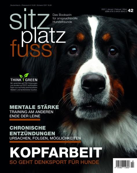 SitzPlatzFuss (42) – Das Bookazin für anspruchsvolle Hundefreunde