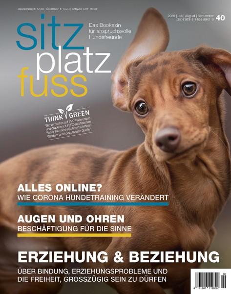 SitzPlatzFuss (40) – Das Bookazin für anspruchsvolle Hundefreunde