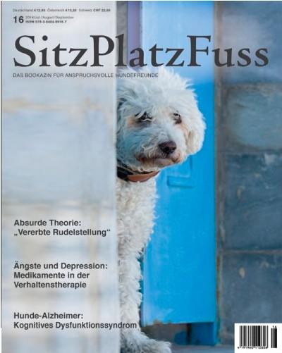 SitzPlatzFuss (16) – Das Bookazin für anspruchsvolle Hundefreunde