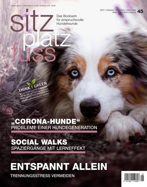 SitzPlatzFuss (45) – Das Bookazin für anspruchsvolle Hundefreunde